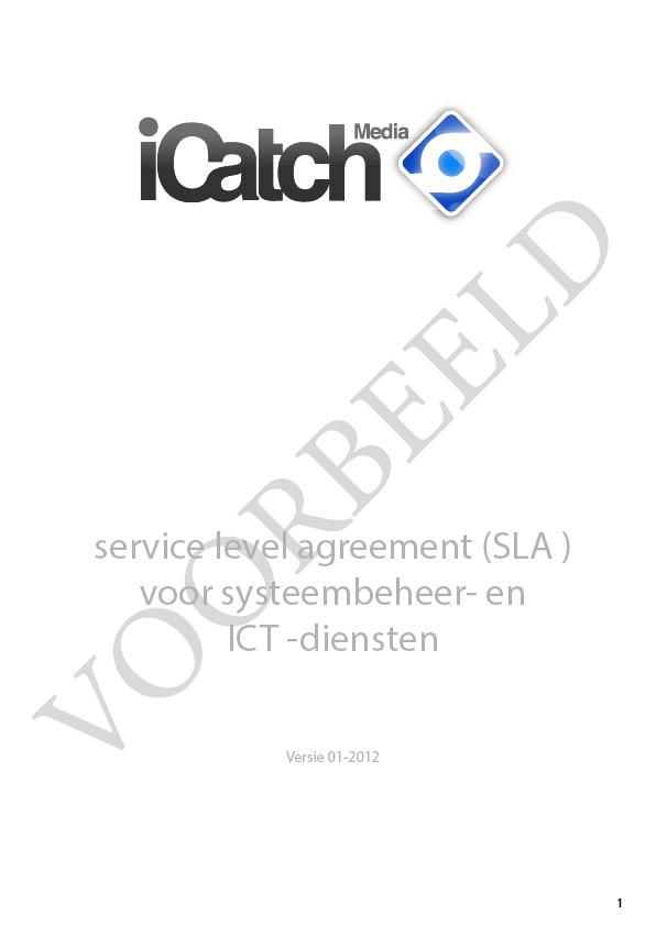 SLA iCatch Media, VOORBEELD